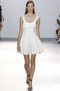 white dress david koma