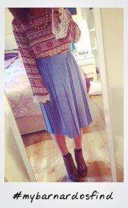 skirt polaroid