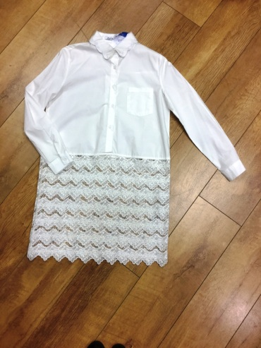 dahlia white shirt