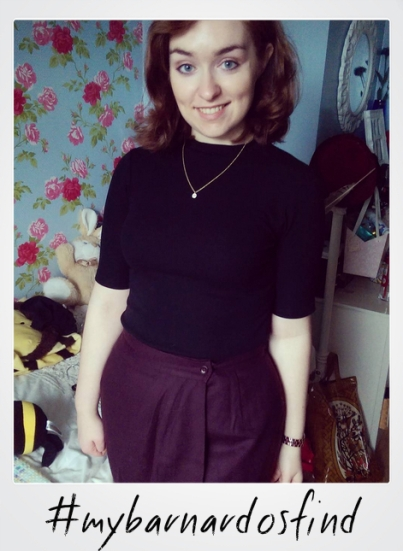 #mybarnardosfind skirt