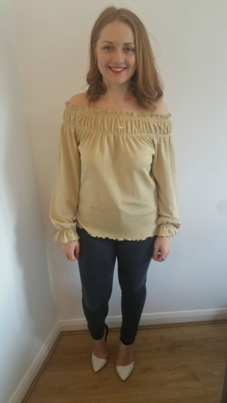 Chairty Panda Gold Blouse2